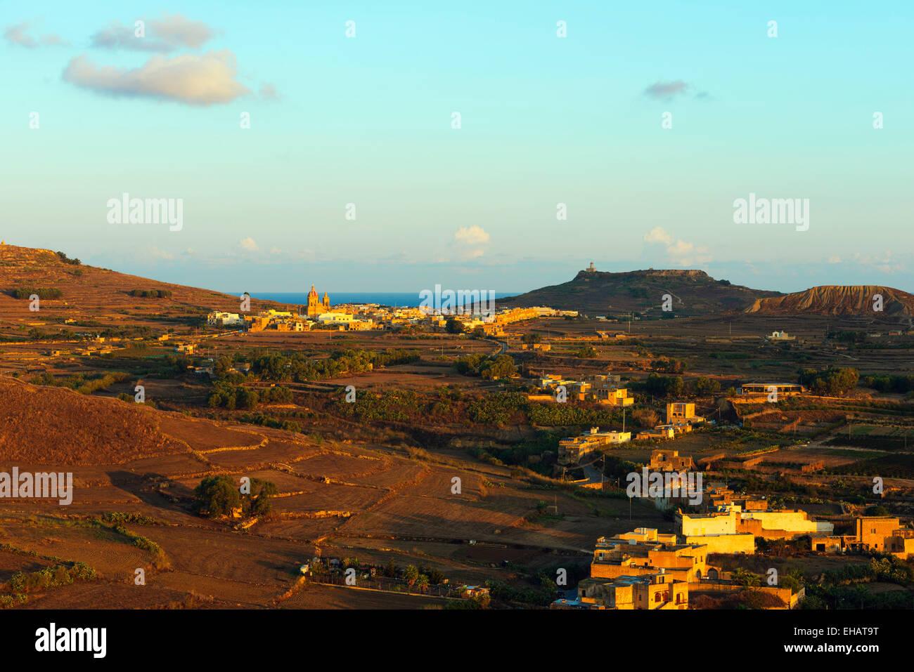 Mediterranen Europa, Malta, Insel Gozo-Marsalforn Stockbild