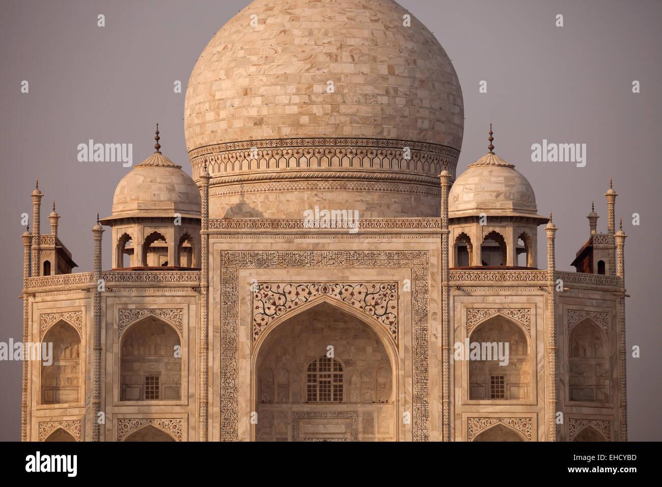 Taj Mahal in Agra, Uttar Pradesh, Indien, Asien |  Taj Mahal in Agra, Uttar Pradesh, Indien, Asien Stockbild