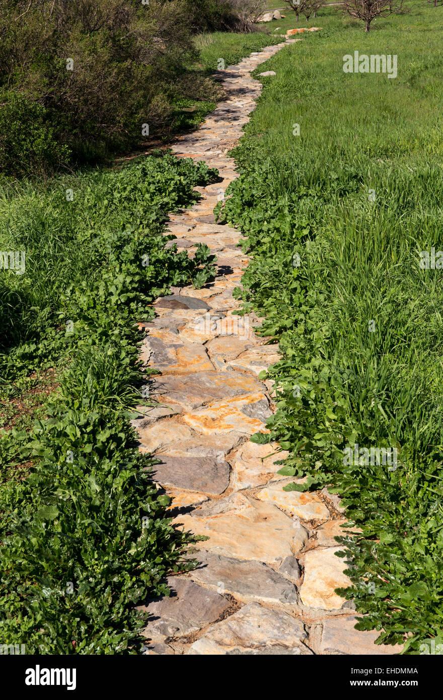 stein-gehweg, garten trail, ovid weingut, pritchard hill, napa