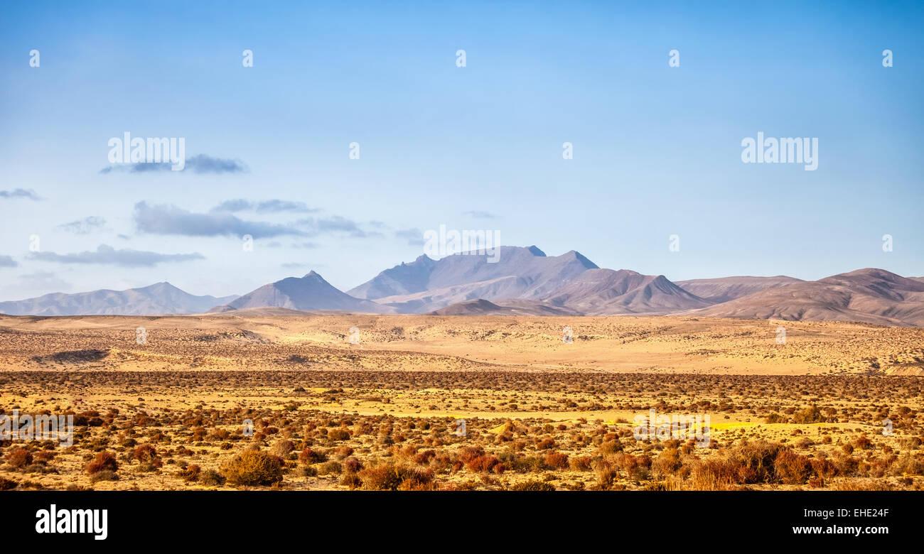 Fuerteventura-Landschaft Stockbild