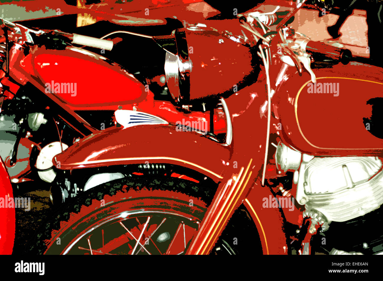 vintage oldtimer motorrad stockfoto bild 79602957 alamy. Black Bedroom Furniture Sets. Home Design Ideas