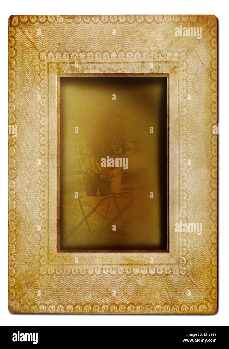 Photo Frame Edges Stockfotos & Photo Frame Edges Bilder - Alamy