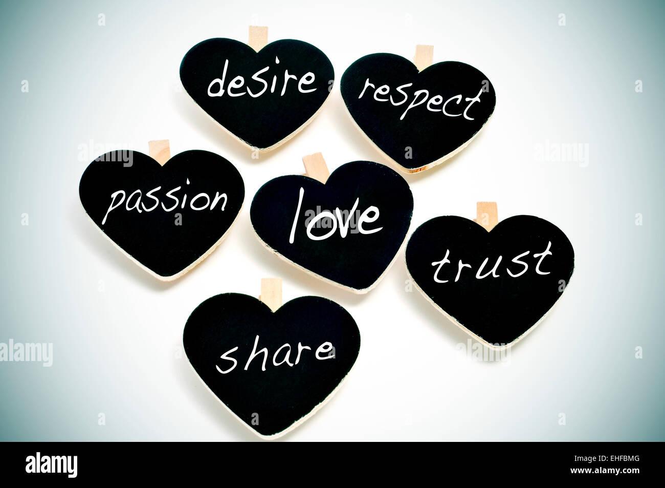 Vertrauen respekt ist liebe warum ist
