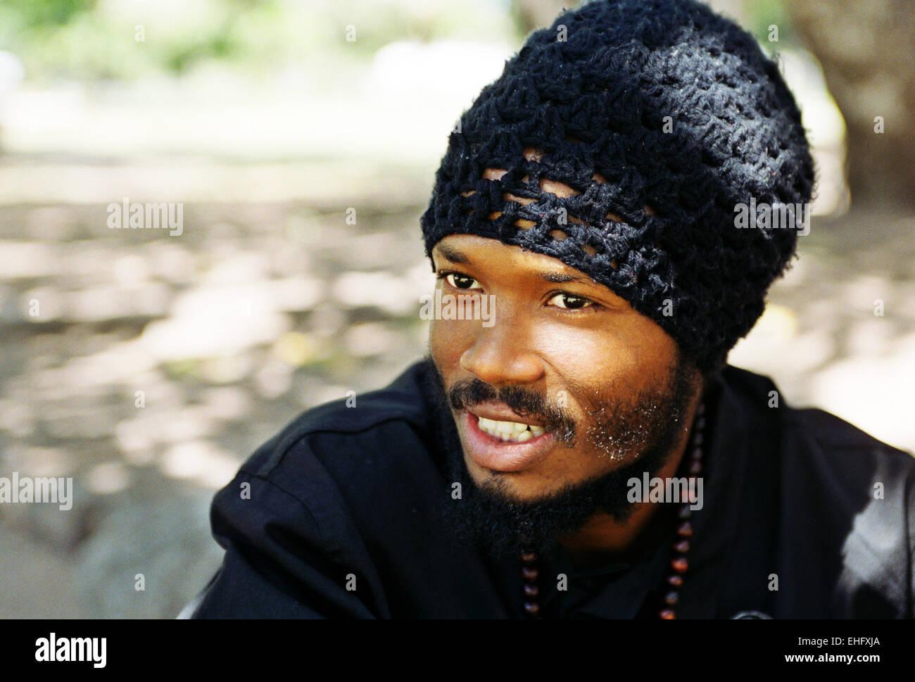 Jamaika-Krieger-König Stockbild
