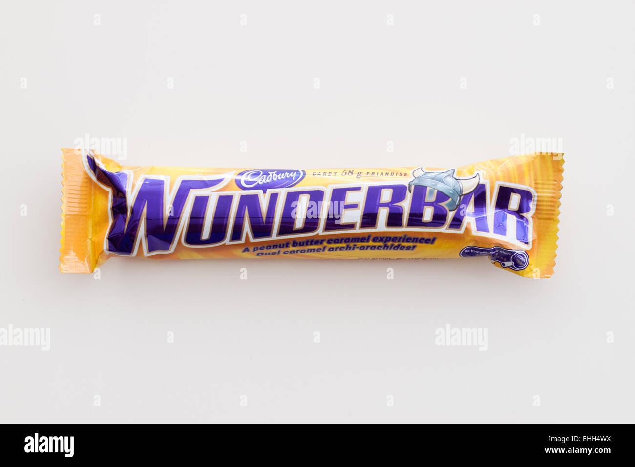 Ein Cadbury Wunderbar Schokoriegel Die In Kanada Und Deutschland