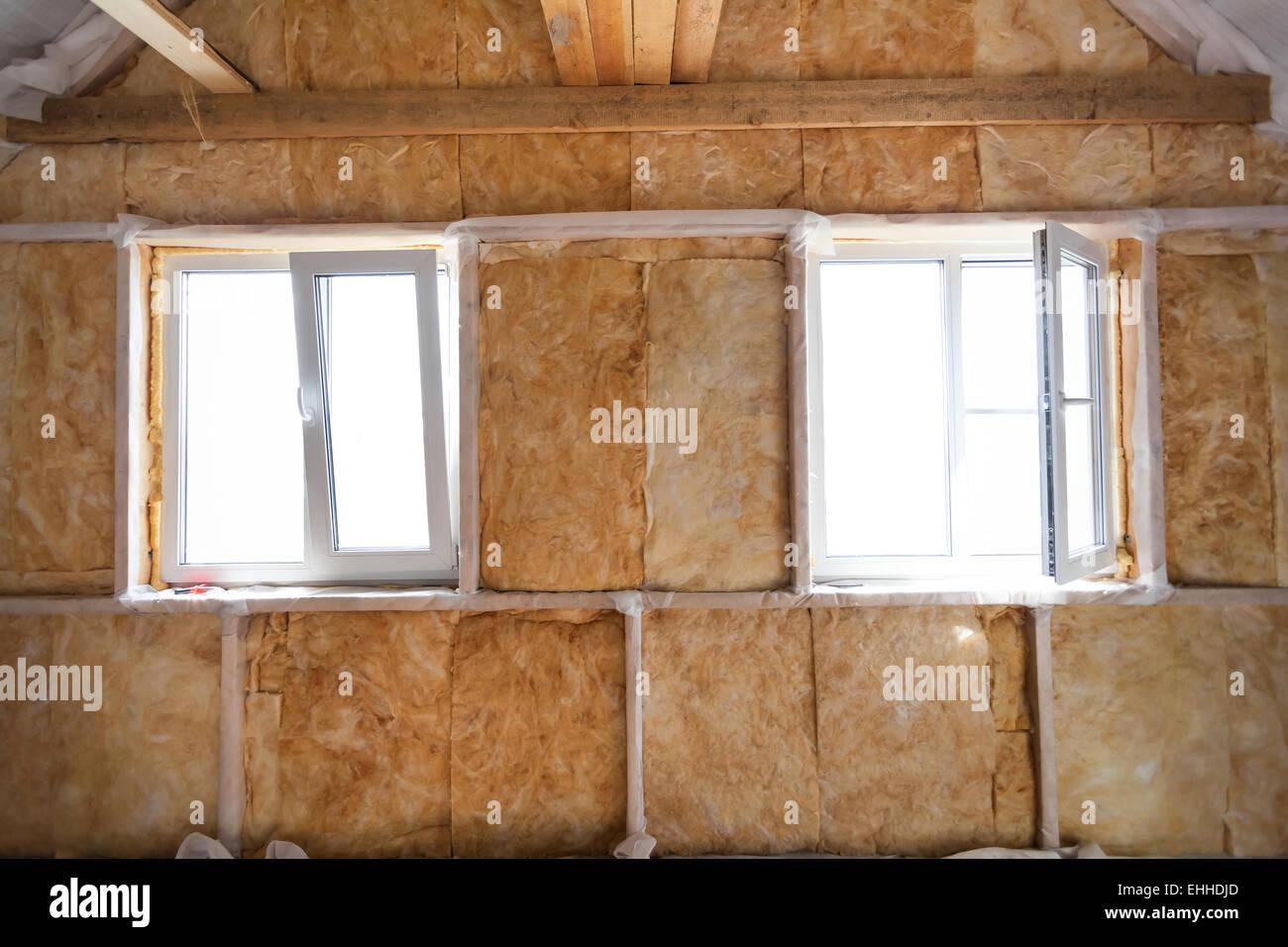Awesome Innen Wand Mit Im Holzhaus Gebude Im Bau With Wand Innen