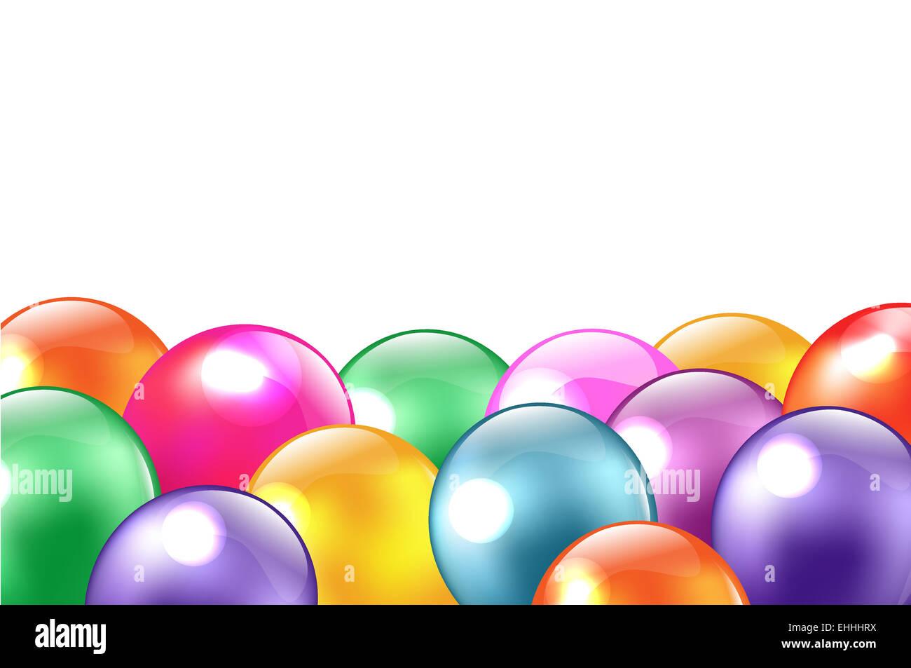 Balloon Border Stockfotos & Balloon Border Bilder - Alamy