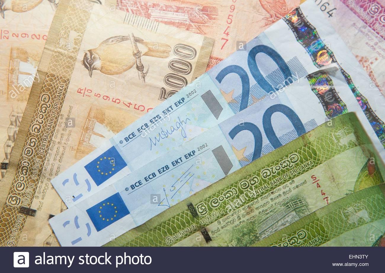 100 euro sri lanka rupie