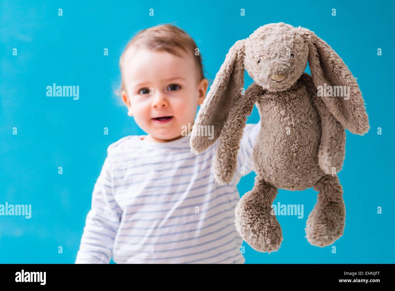 18 Monate alten Jungen. Stockbild