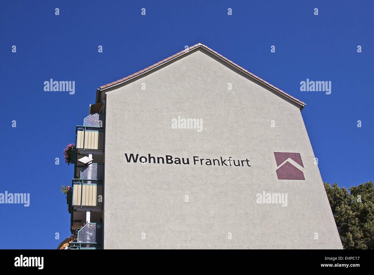 wohnbau frankfurt stockfoto bild 79783011 alamy. Black Bedroom Furniture Sets. Home Design Ideas