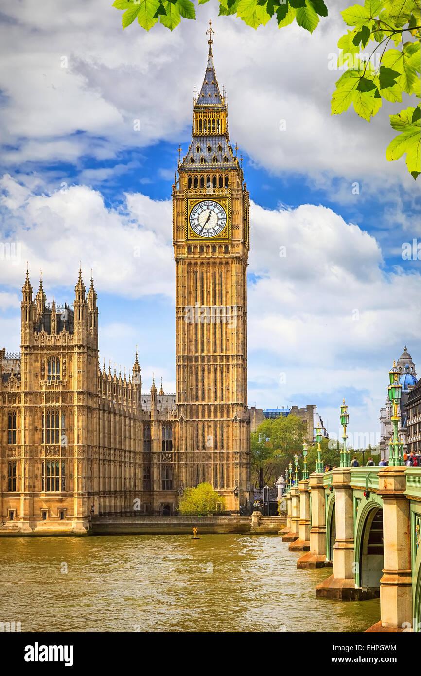 Big Ben in London Stockbild