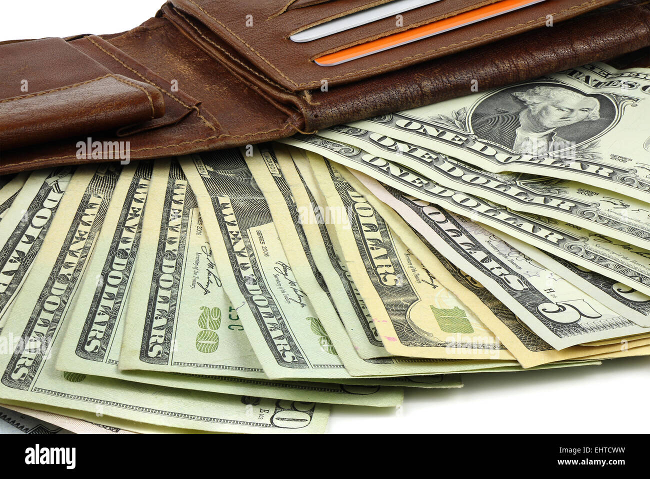 dollars wallet stockfotos dollars wallet bilder seite 2 alamy. Black Bedroom Furniture Sets. Home Design Ideas