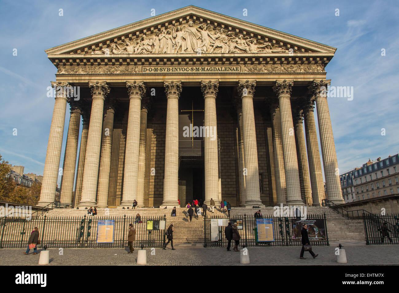 ABBILDUNG DER STADT PARIS, ILE DE FRANCE, FRANKREICH Stockfoto
