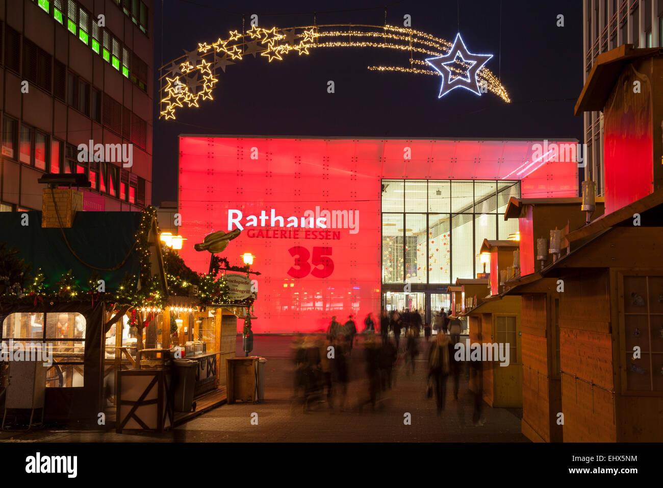 Deutschland Nordrhein Westfalen Essen Shopping Center Rathaus