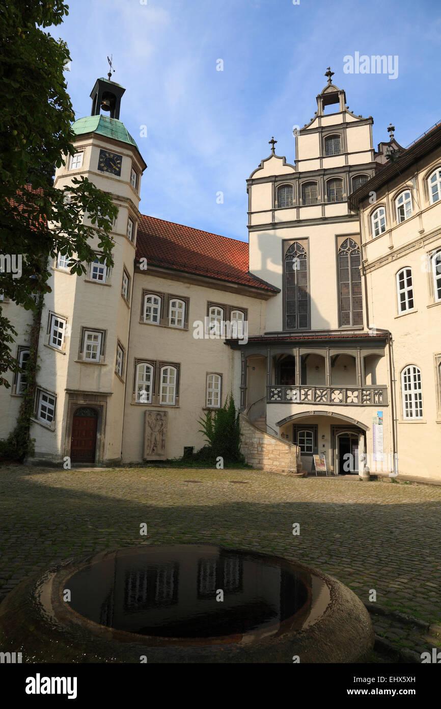 Schloss Gifhorn, Niedersachsen, Deutschland, Europa Stockbild