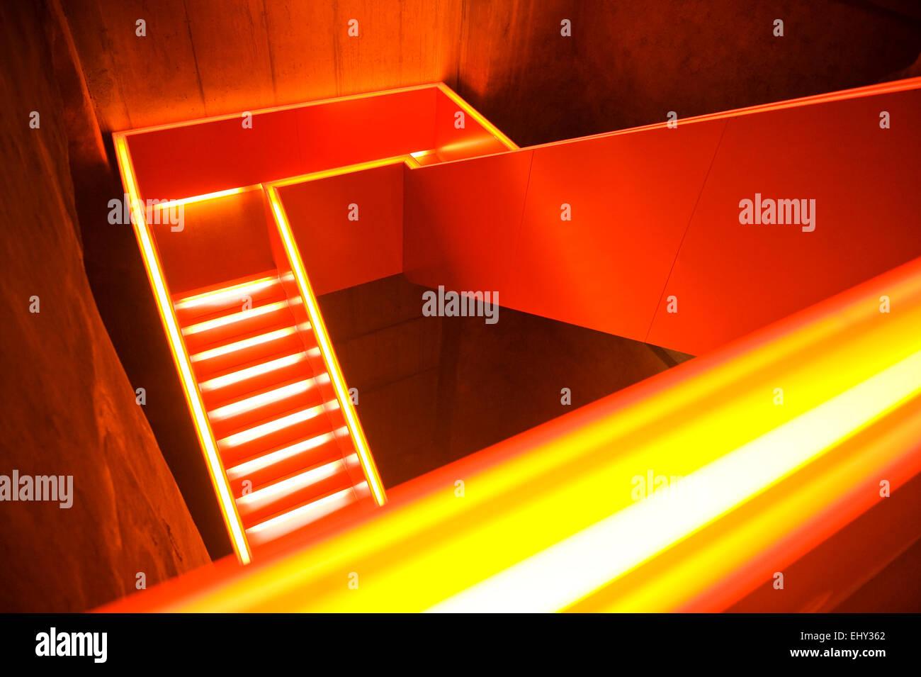 Treppen Essen besucherbereich treppen der ruhr museum zeche welterbe