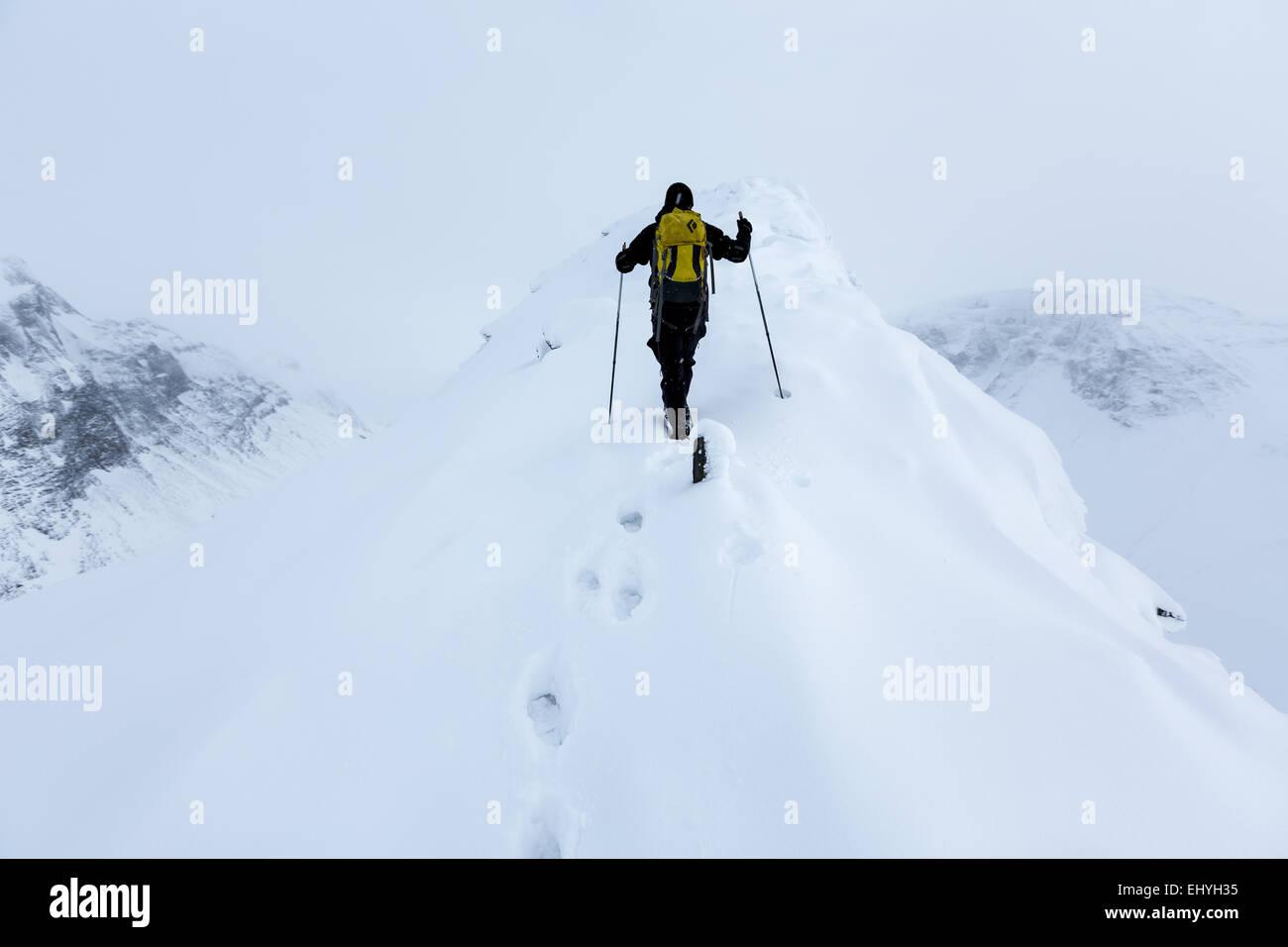 Nallostugan, Kebnekaise Berggebiet, Kiruna, Schweden, Europa, EU Stockbild