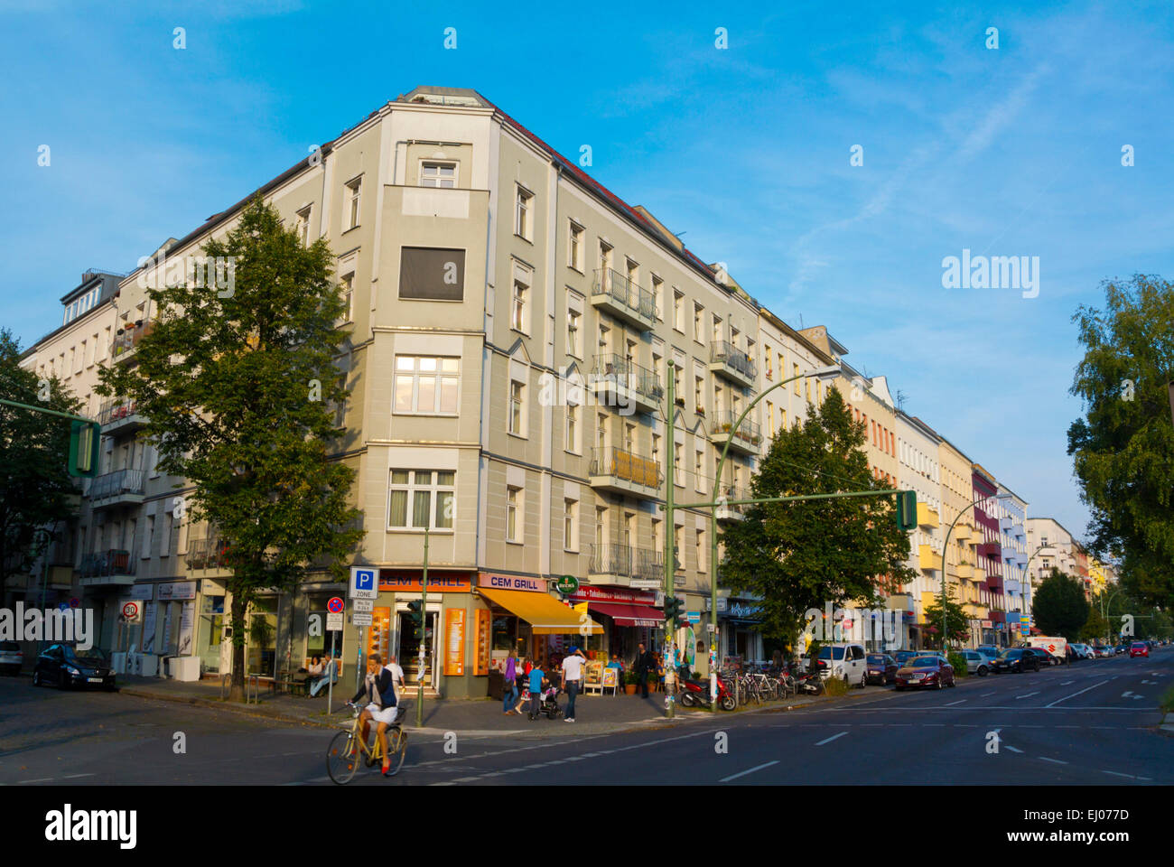Bezirk Prenzlauer Berg, Berlin, Deutschland Stockbild