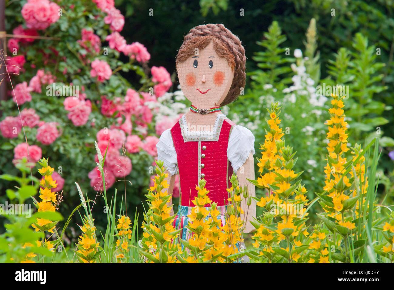 Europa deutschland bayern m dchen dirndl m dchen for Garten blumen deko