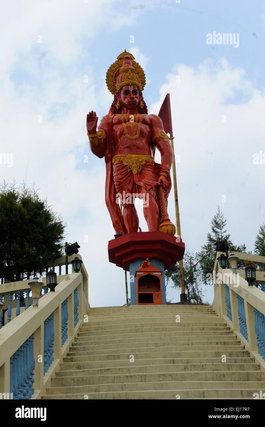 Tempel in Kalimpong, Westbengalen, Indien Stockbild