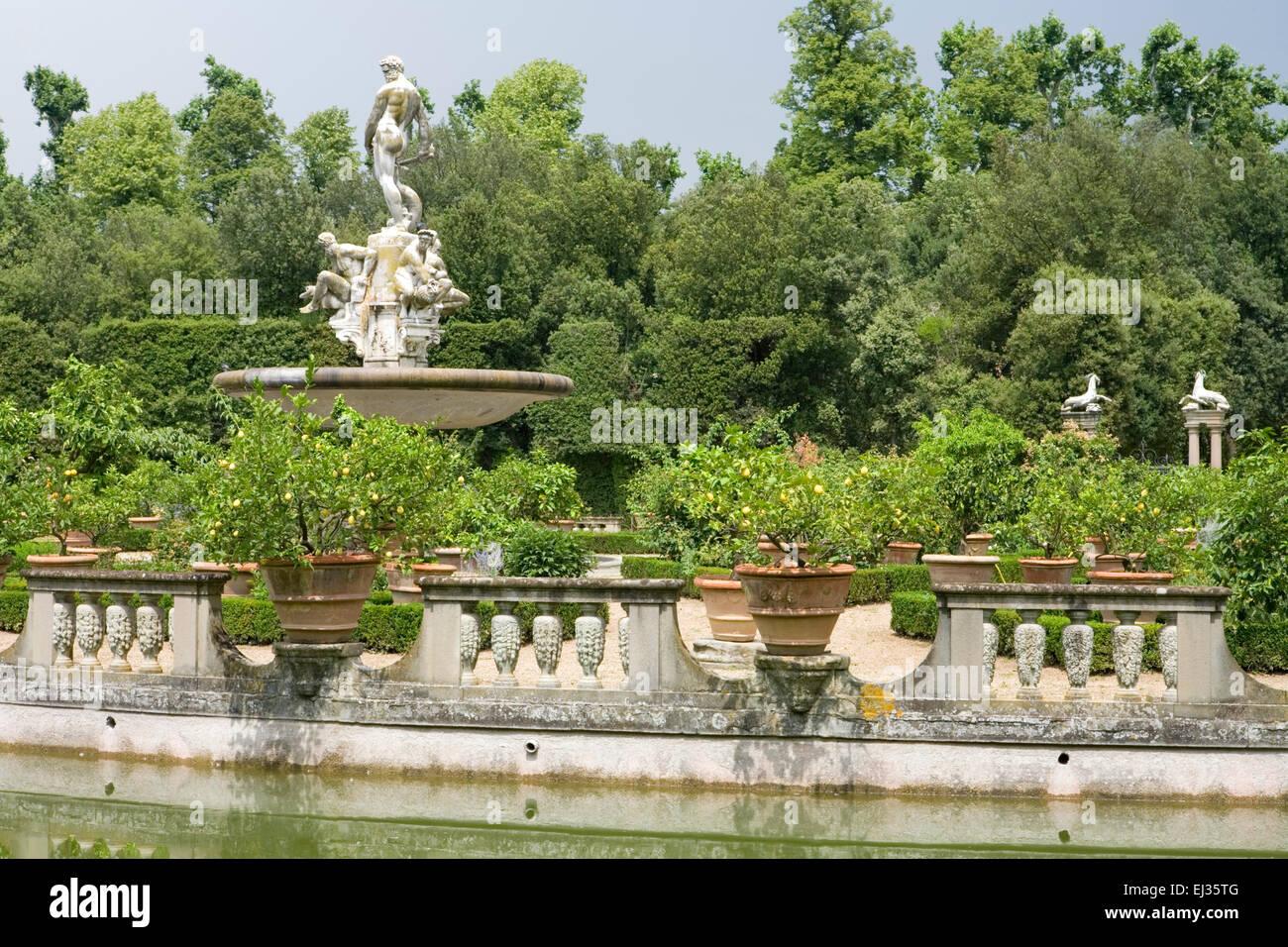 Giardino di boboli boboli gärten florenz italien sechzehnten
