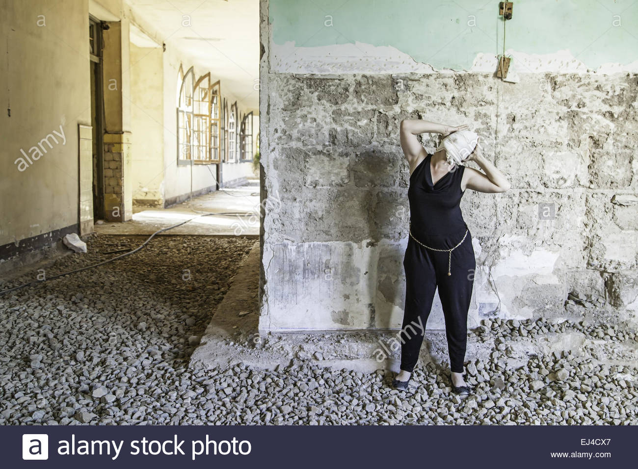 Haus Verlassenes Krankenhaus Stockfotos Haus Verlassenes