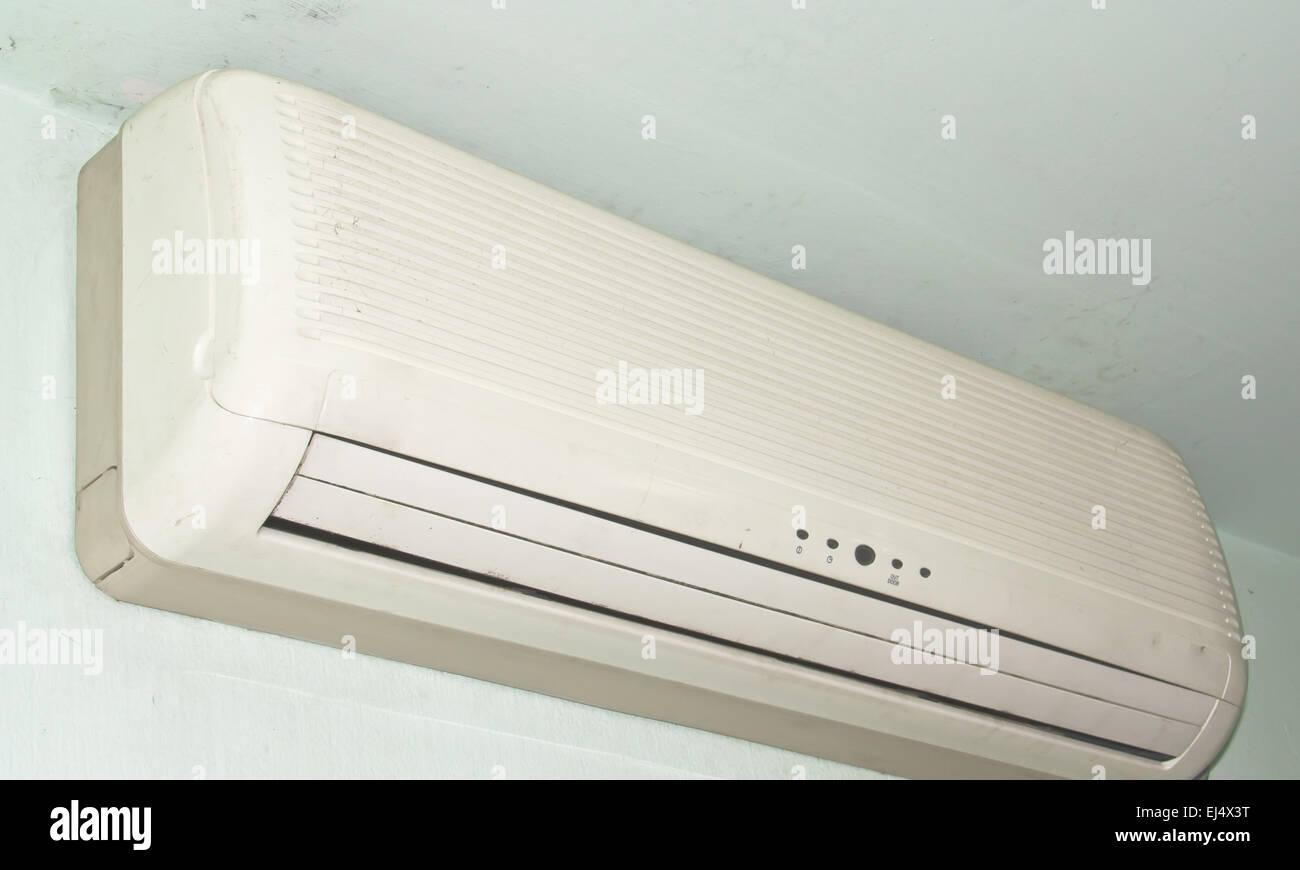 Eine Klimaanlage. Im Schlafzimmer für das Haus im Allgemeinen ...