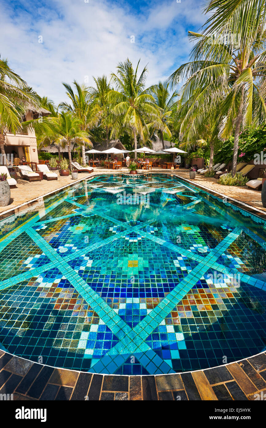 Mia Resort Mui ne Binh Thuan Provinz, Vietnam. Stockbild