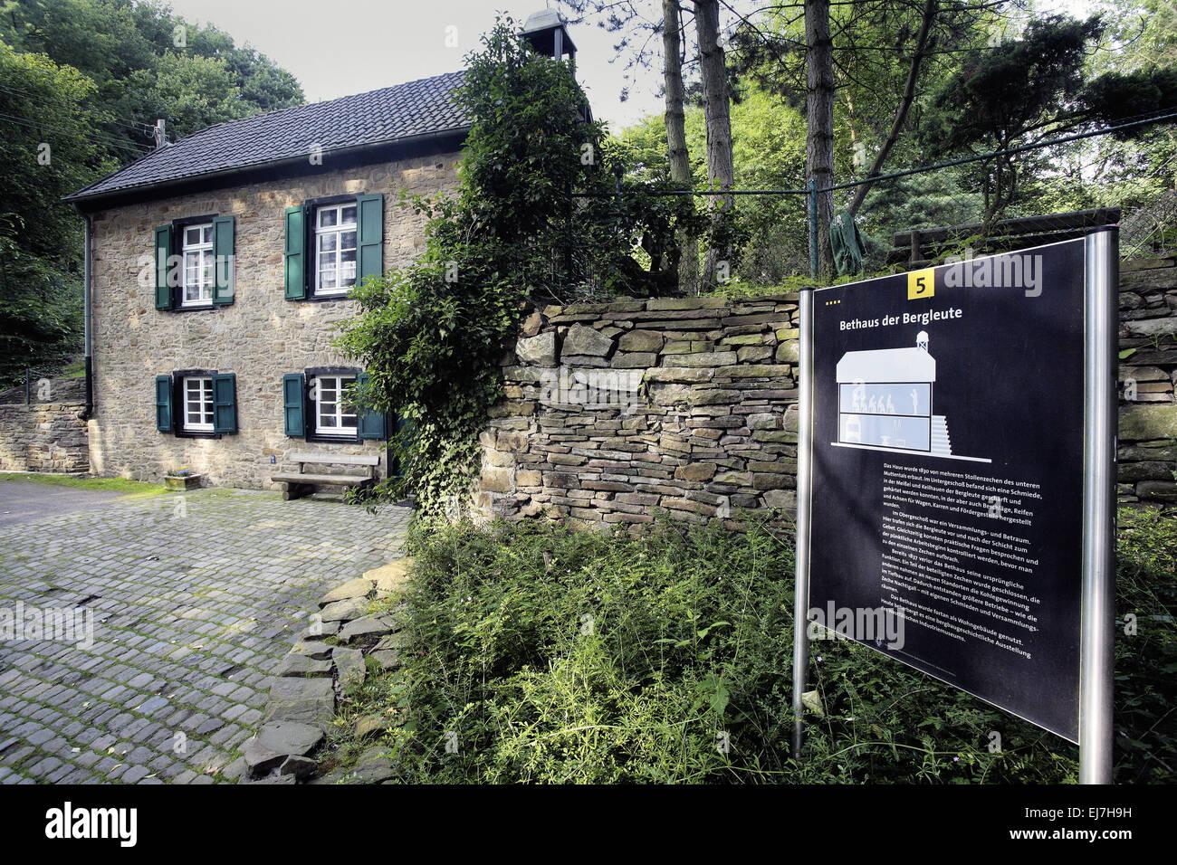 Gebet, Muttental, Witten, Deutschland Stockbild
