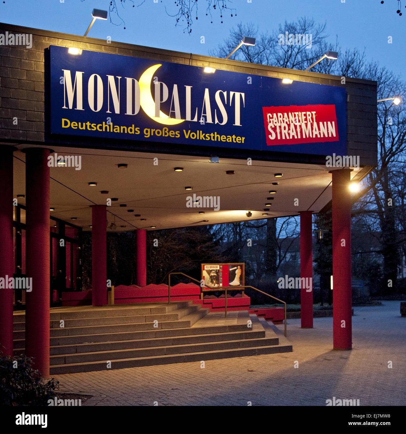 Volkstheater Moon Palace, Herne, Deutschland Stockbild