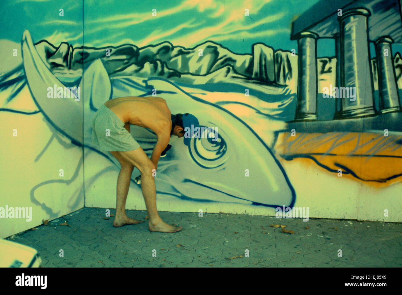 Graffiti Creator Stockfoto Bild 80085553 Alamy
