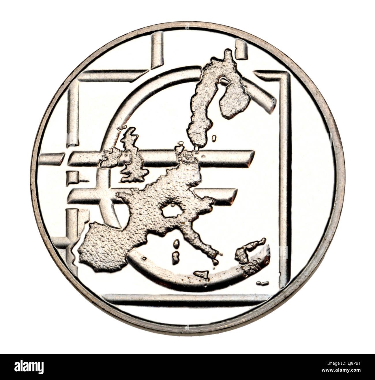Münze In Einem Satz Der Münze Euro Münzen Enthalten übersicht