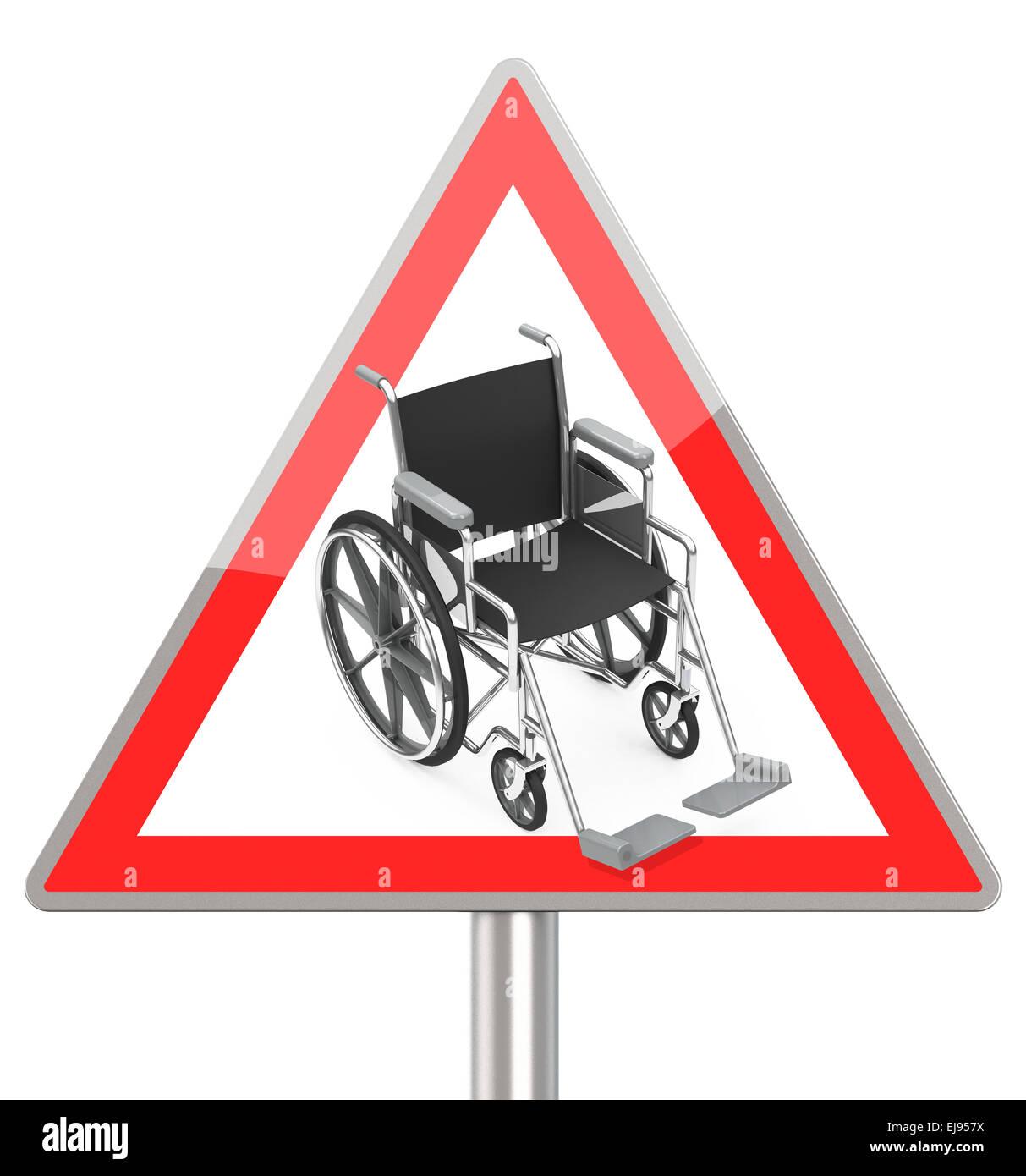 Behinderung Stockbild