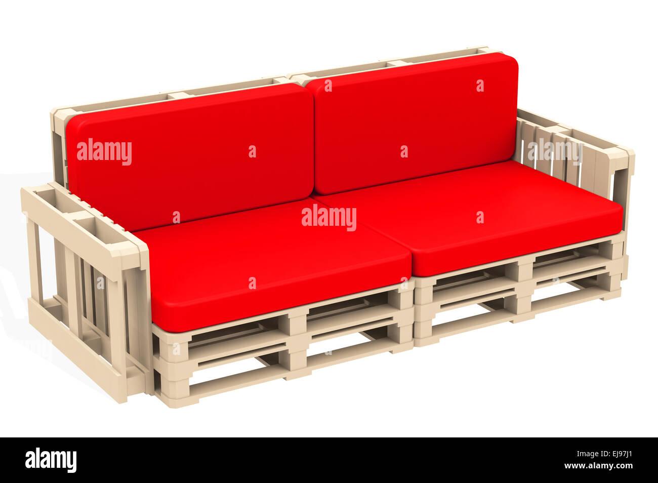 Die Rote Couch Stockfoto Bild 80108841 Alamy