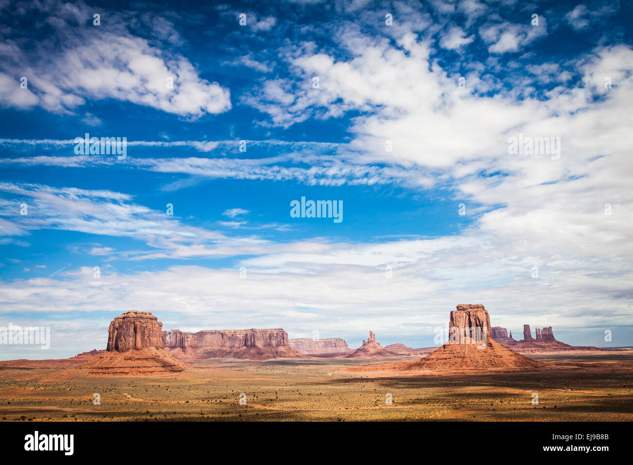 Monument Valley Stockbild