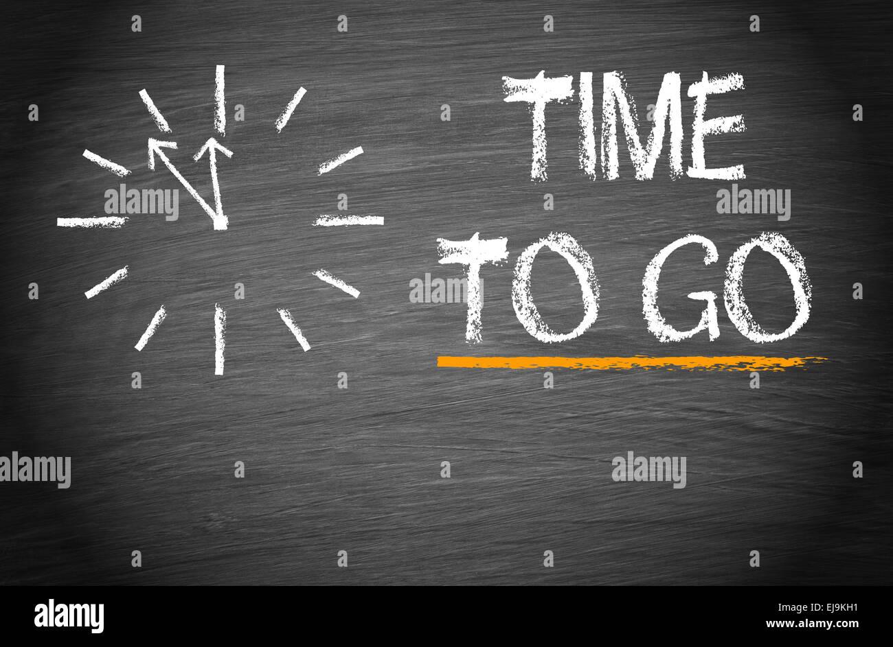 Zeit Zu Gehen