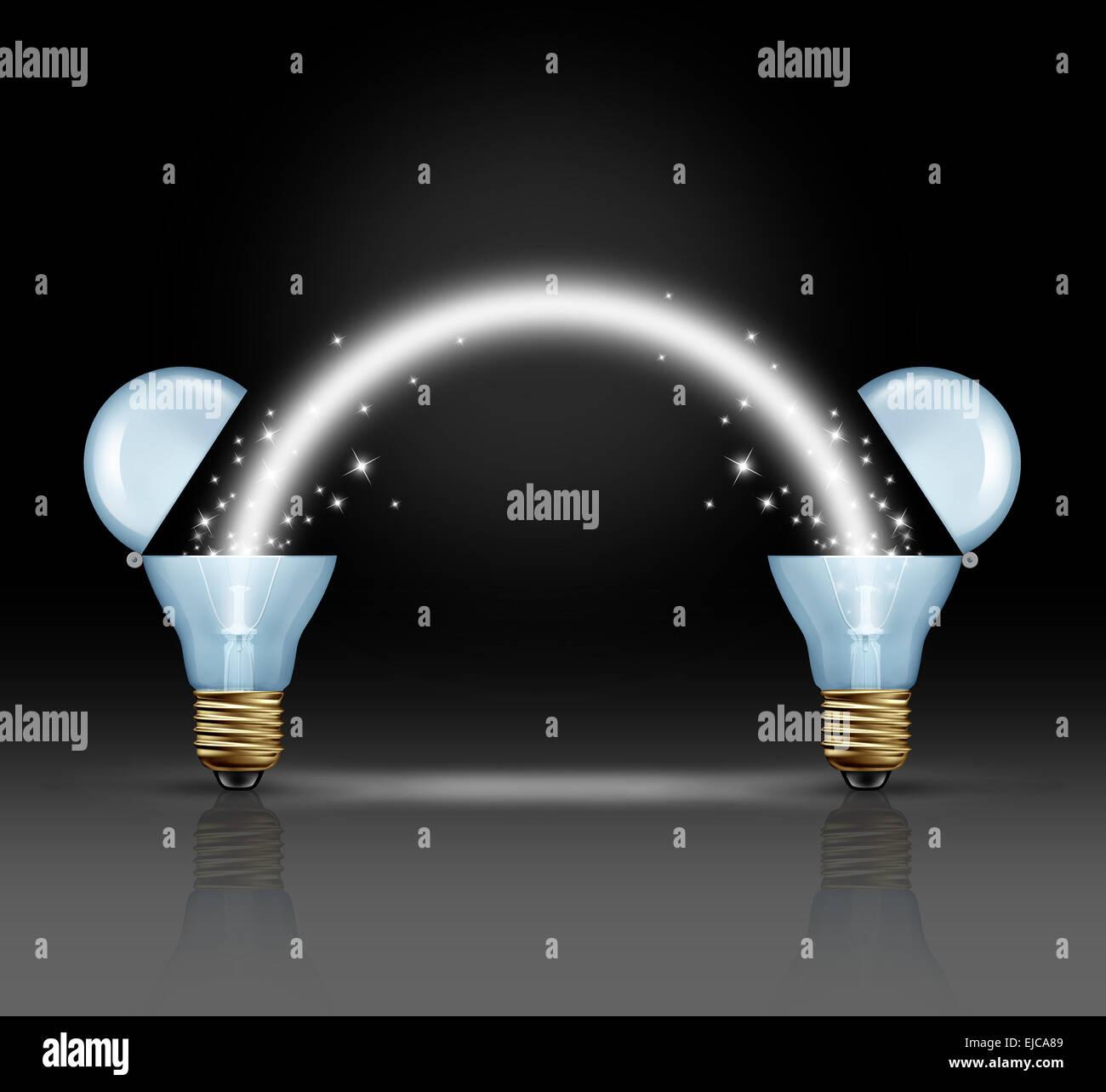 Nett Licht Miteinander Verbinden Fotos - Elektrische Schaltplan ...