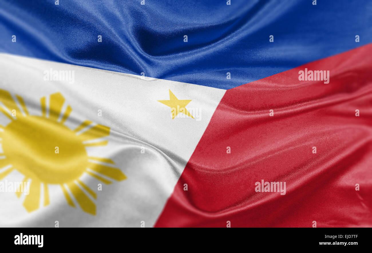 Frohe Weihnachten Philippinisch.Philippines Flag Vector Stockfotos Philippines Flag Vector Bilder