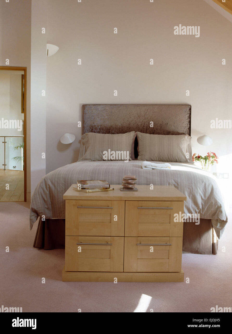 interiors country bedrooms domestic stockfotos interiors. Black Bedroom Furniture Sets. Home Design Ideas