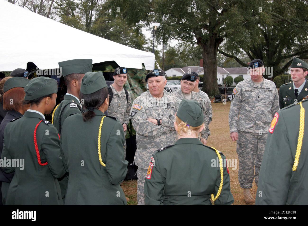 The Army School System Stockfotos The Army School System Bilder