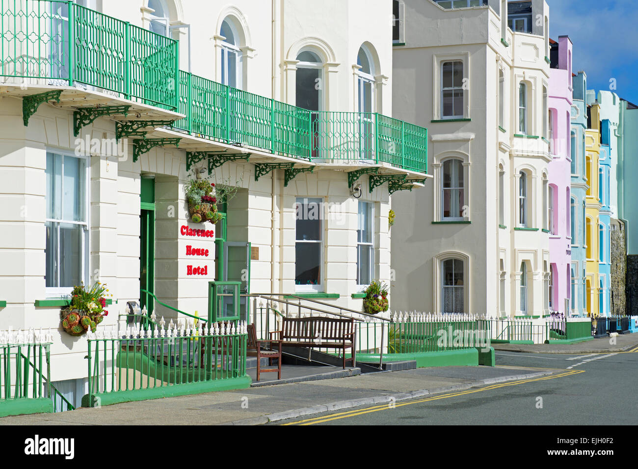 Das Clarence House Hotel Tenby Pembrokeshire Wales Uk