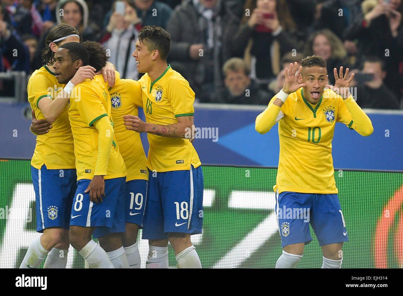 Frankreich Gegen Brasilien