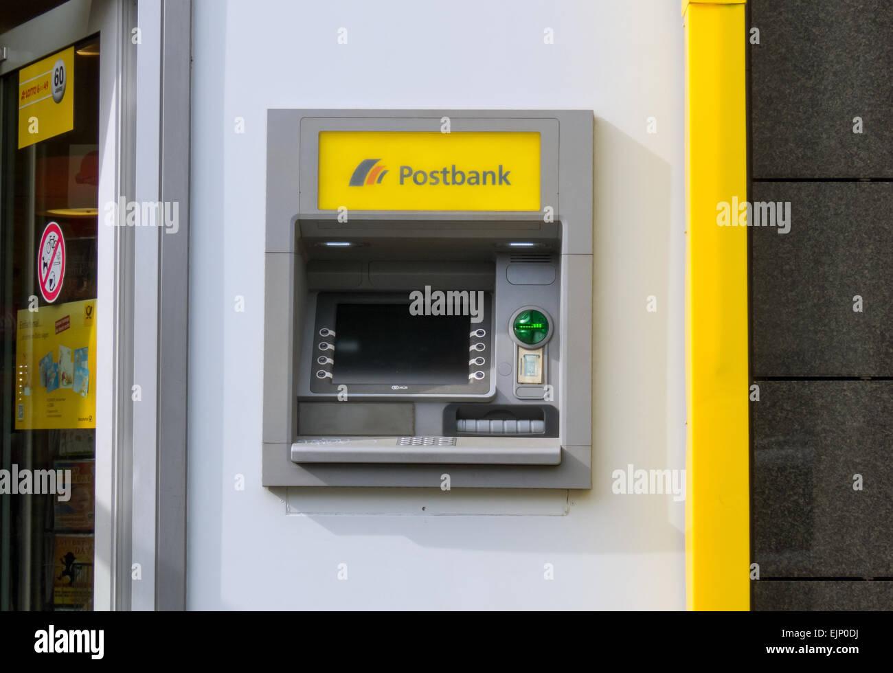 Deutsche Bank Geldautomat Frankfurt