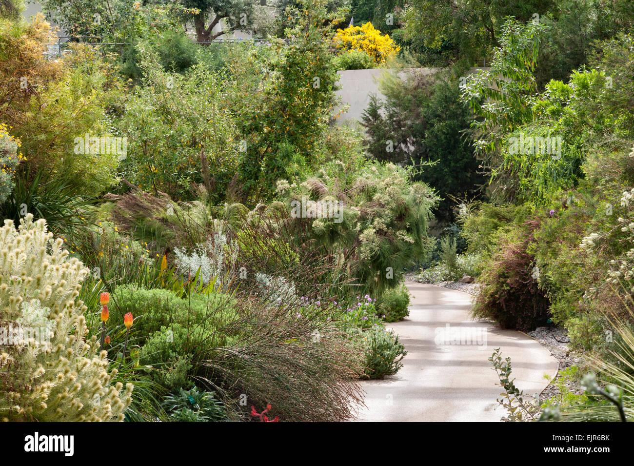 Der nationale botanische Garten von Wales, Llanarthney, Wales, UK ...