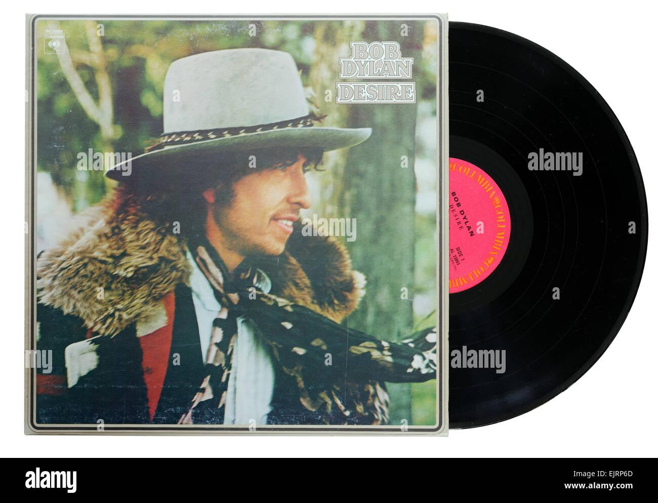 Bob Dylan Wunsch album Stockfoto
