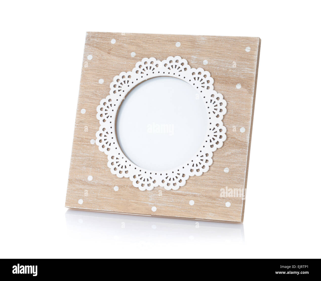 Round Vintage Frame On White Stockfotos & Round Vintage Frame On ...