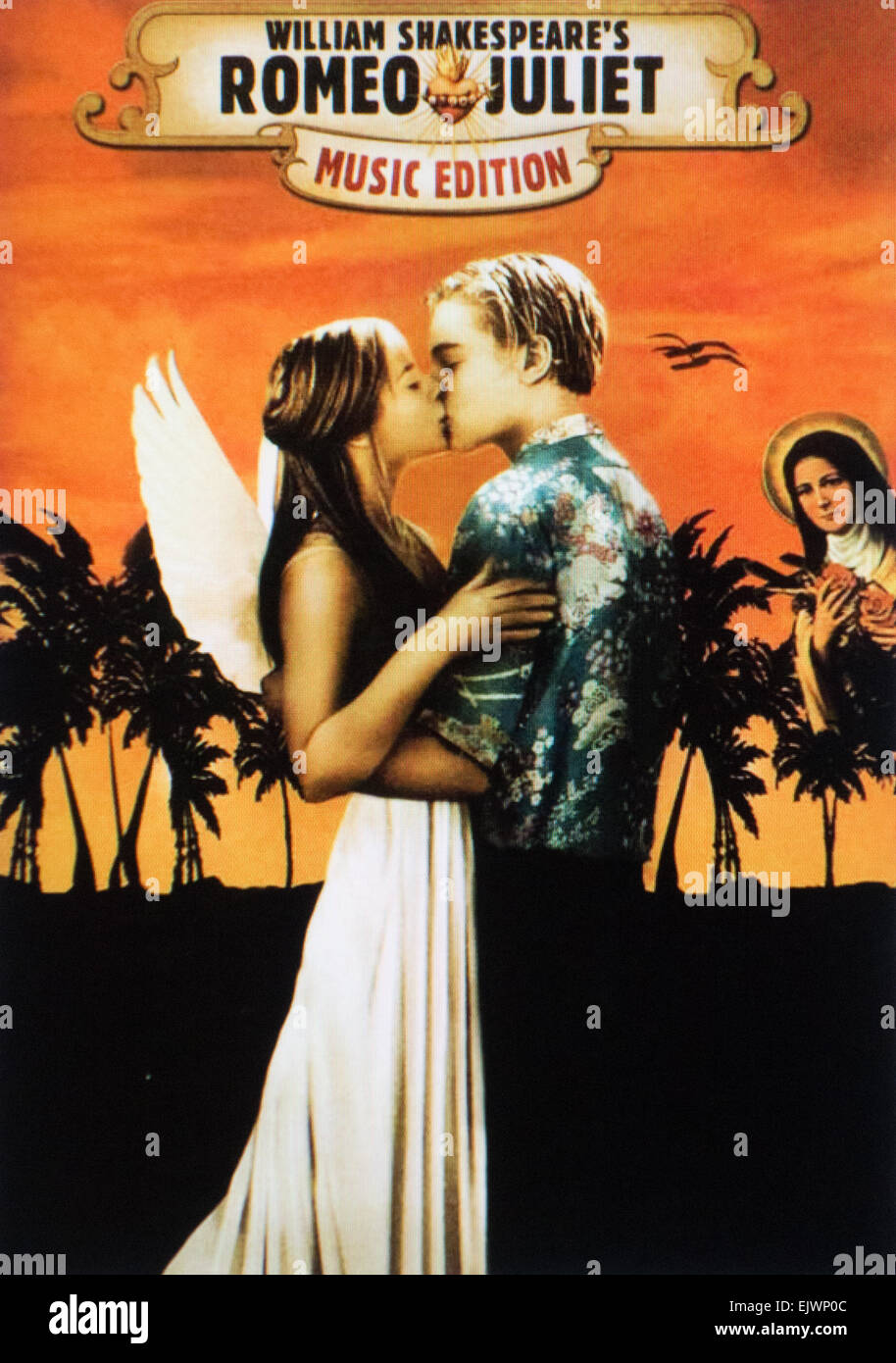 """Romeo und Julia"" 1996 Film Stockbild"