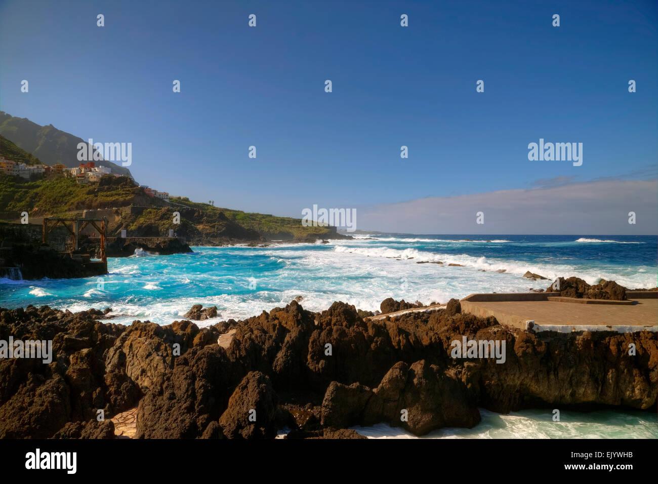 Garachico, Teneriffa, Kanarische Inseln, Spanien Stockfoto