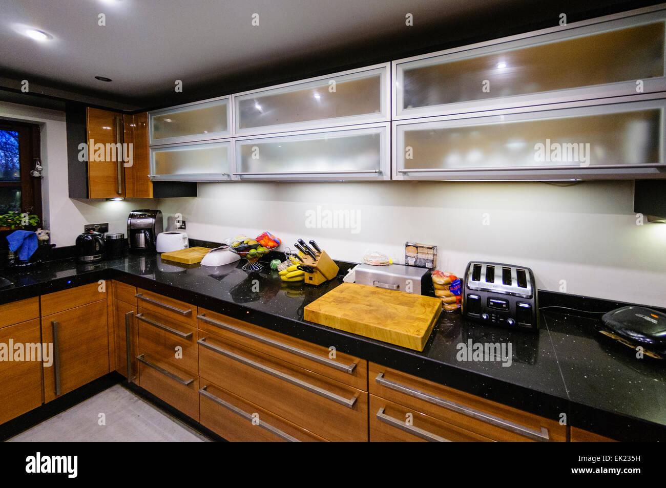 granite worktops stockfotos granite worktops bilder alamy. Black Bedroom Furniture Sets. Home Design Ideas