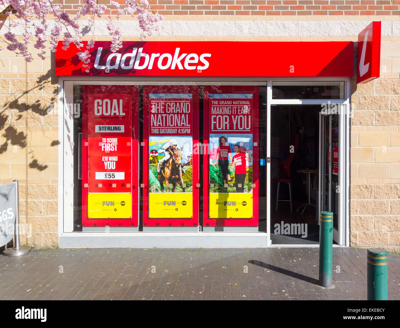 ladbrokes betting shops ltd